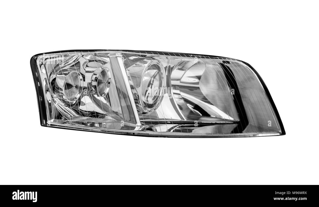 Auto Part Car Headlight Cut Out Stock Images Pictures Alamy