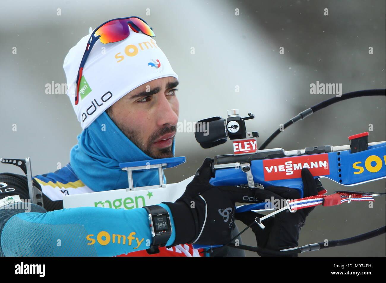 Biathlon in 2017-2018: World Cup 6