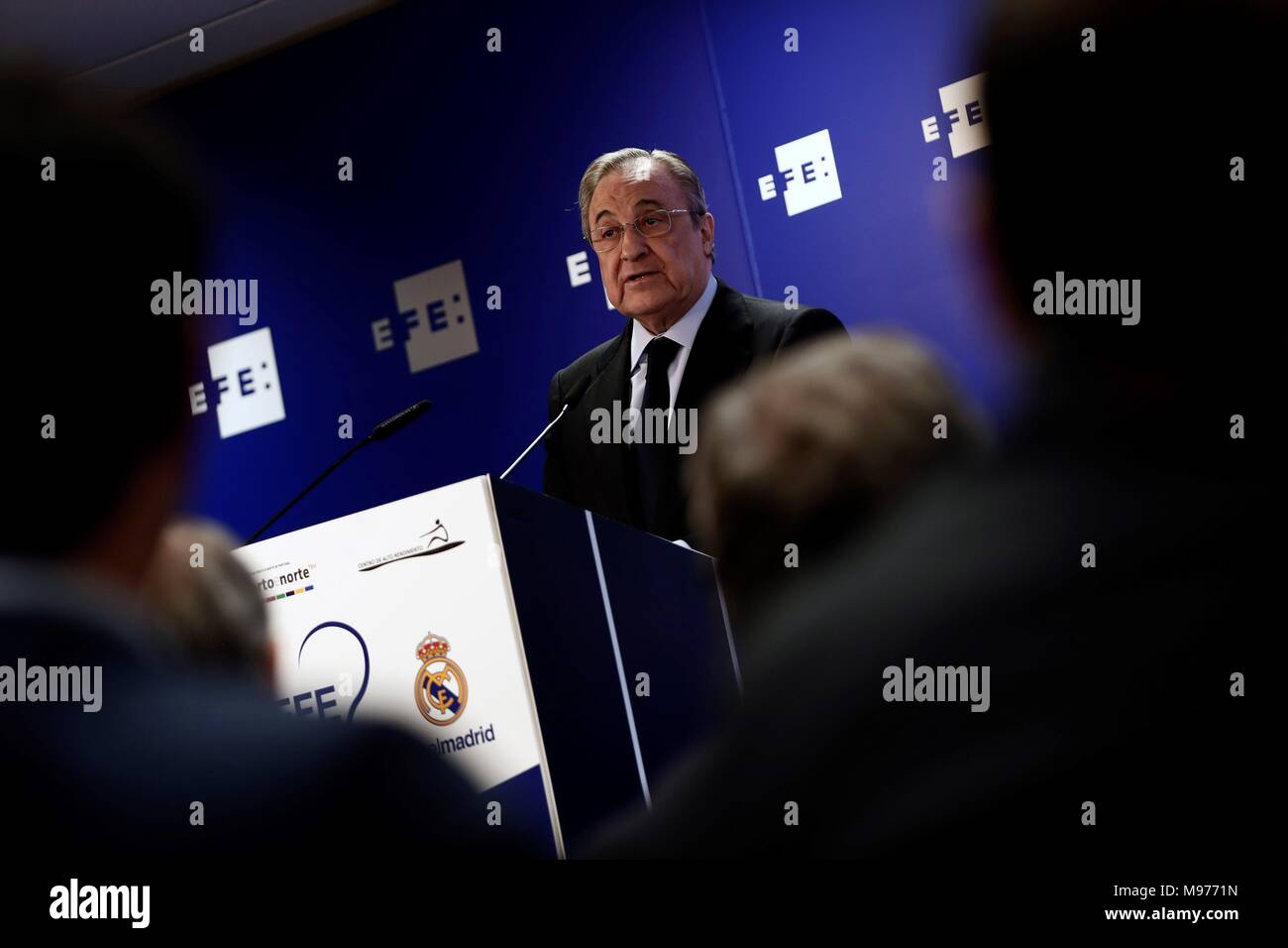 Madrid, Spain  23rd Mar, 2018  President of Real Madrid, Florentino