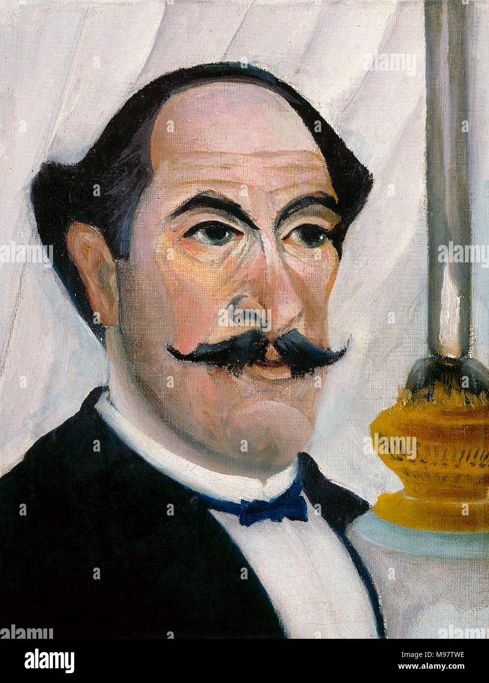 Henri Rousseau (1844-1910), self-portrait, oil on canvas, c.1902/3 - Stock Image