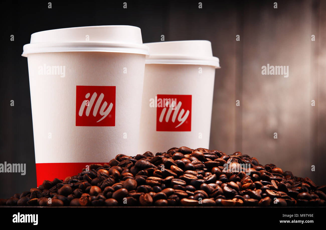 Illy Coffee Stock Photos Illy Coffee Stock Images Alamy