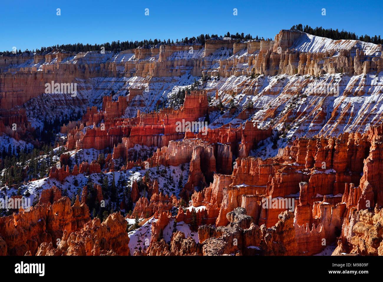 Bryce Canyon National Park,Utah,America,USA - Stock Image