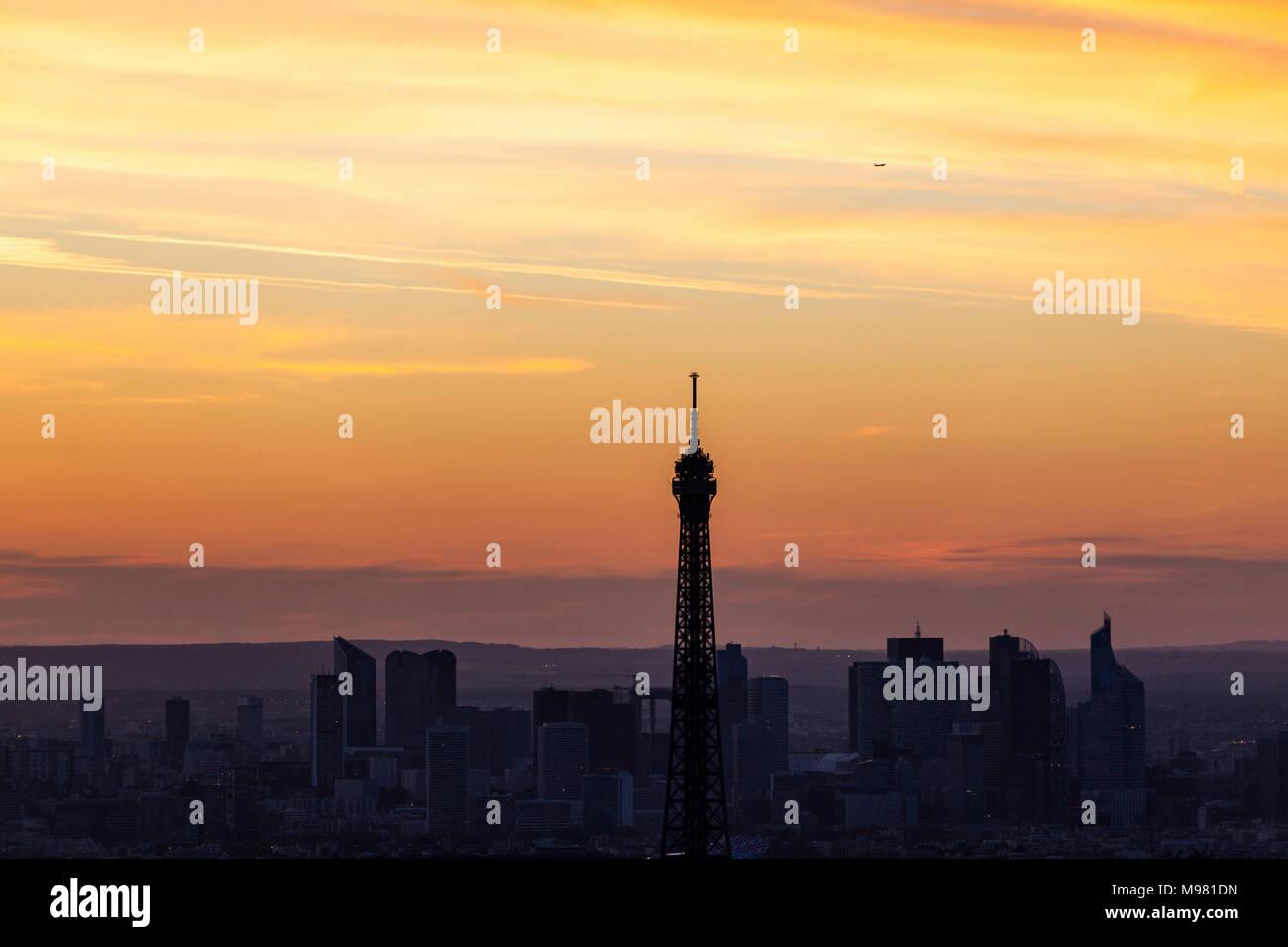 France, Ile-de-France, Paris, - Stock Image