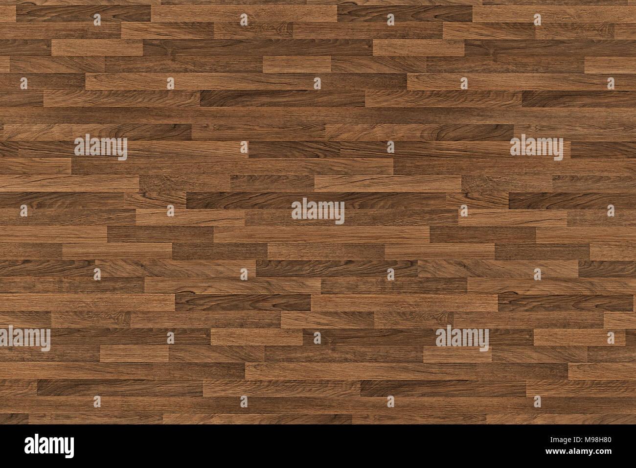 Seamless wood floor texture, hardwood floor texture, wooden parquet. - Stock Image