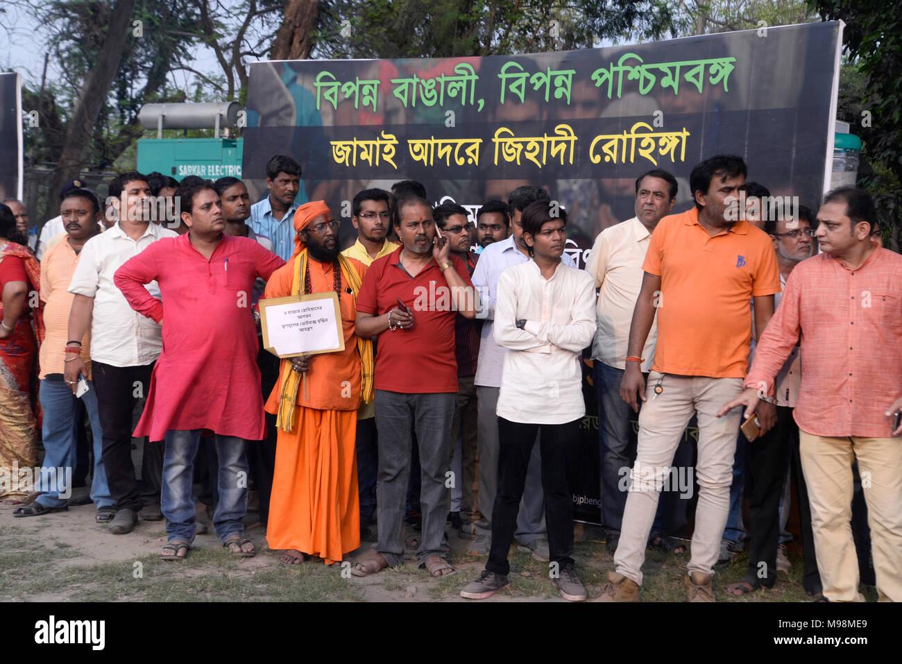 Demonstration For Rohingya Stock Photos & Demonstration For