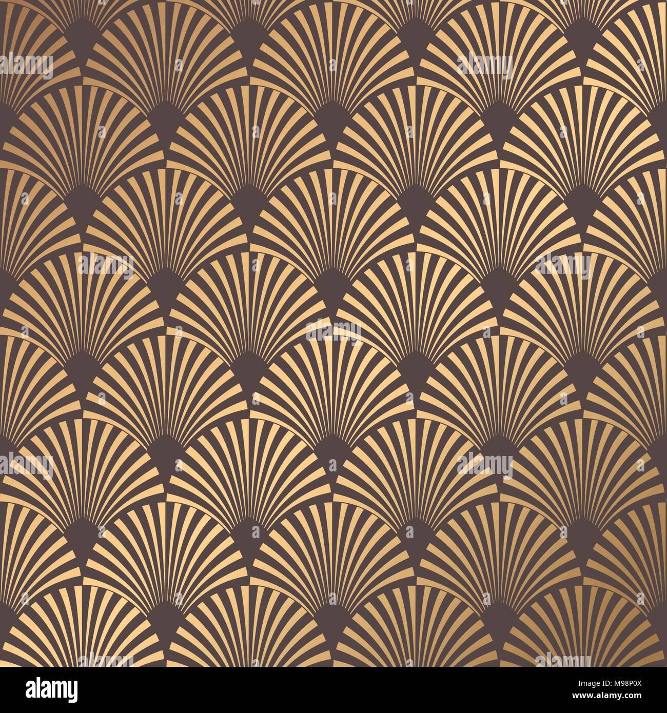 Abstract Art Deco Seamless Pattern Sticker