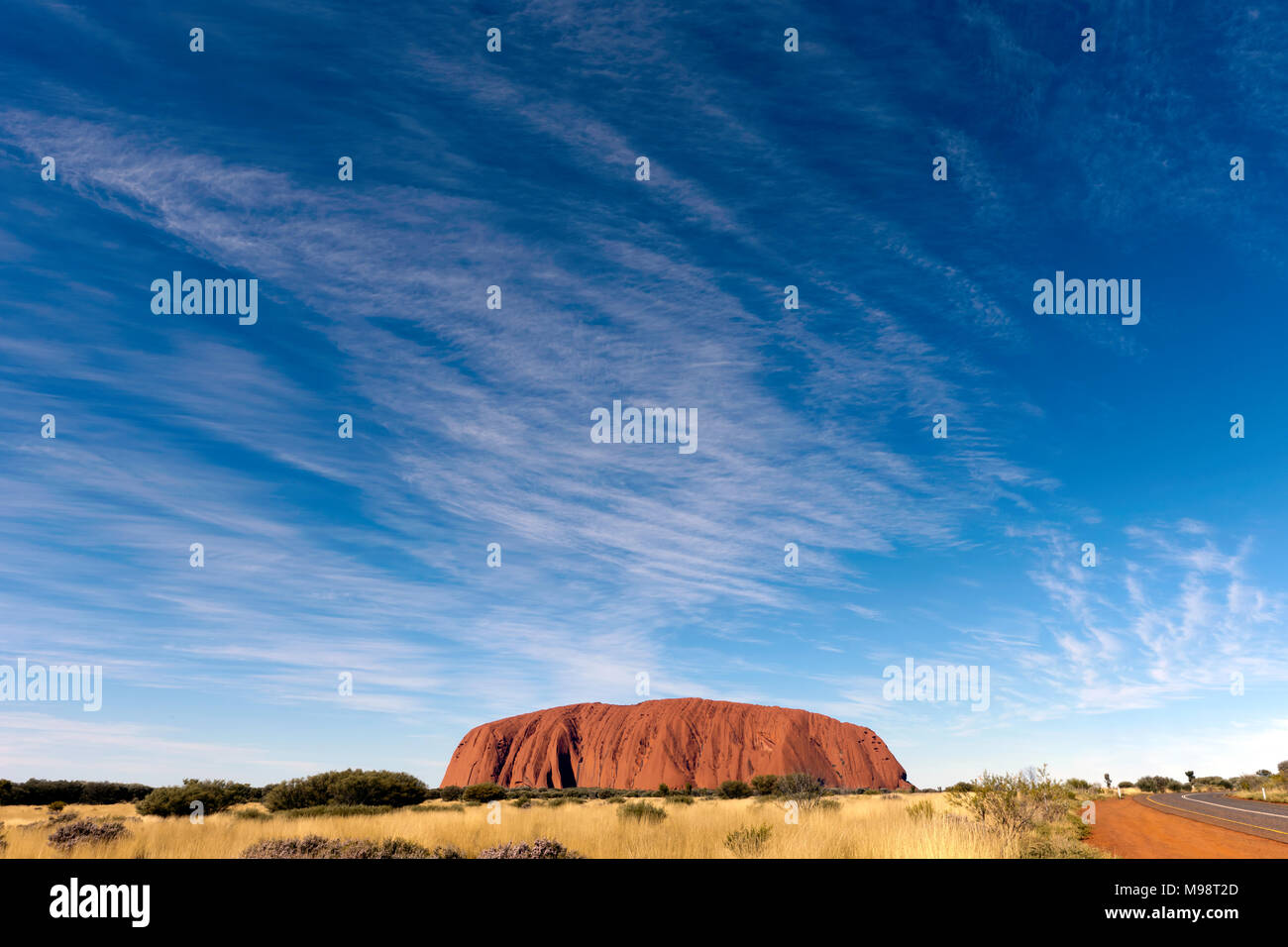 road to ayers rock stock photos road to ayers rock stock images alamy. Black Bedroom Furniture Sets. Home Design Ideas