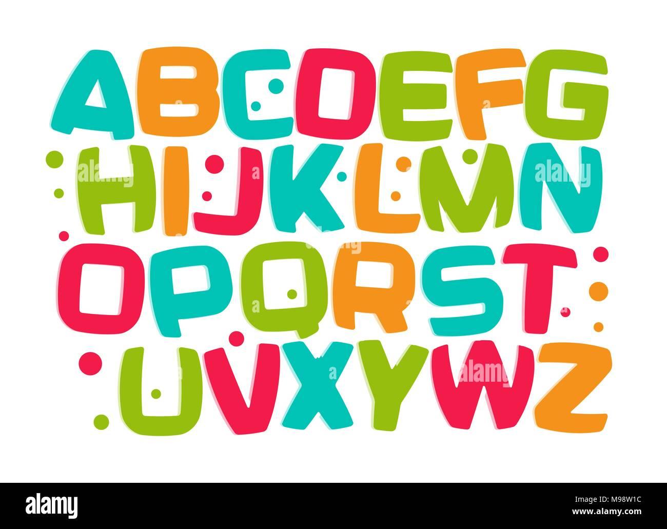 School Zone Letters