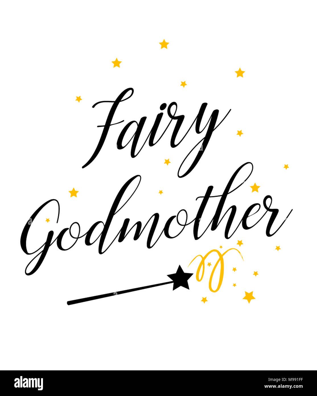 Fairy Godmother Design - Stock Image