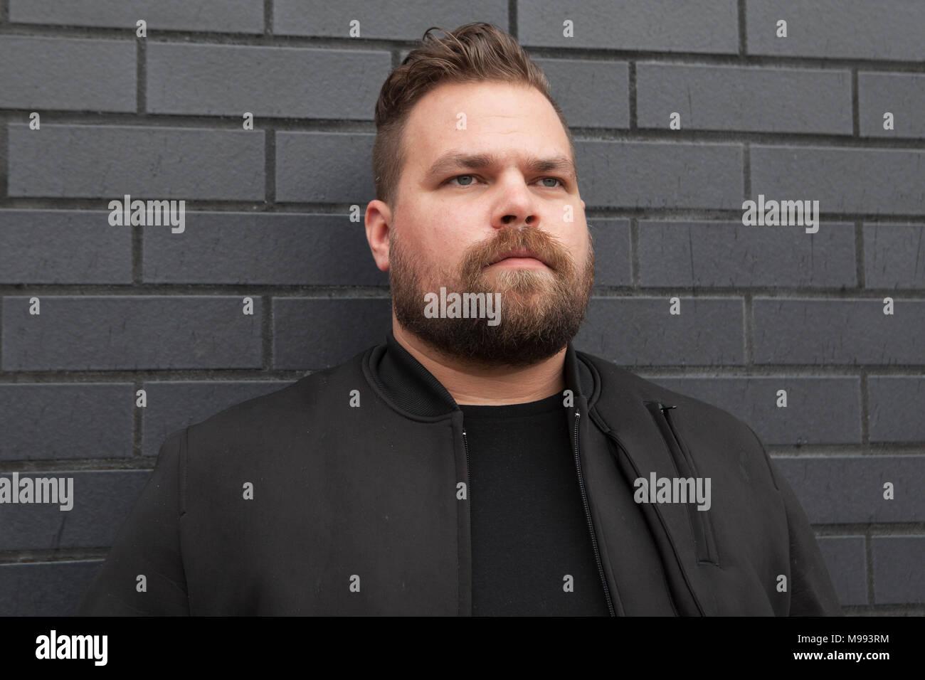 American Producer Seth Haley aka Com Truise - Stock Image