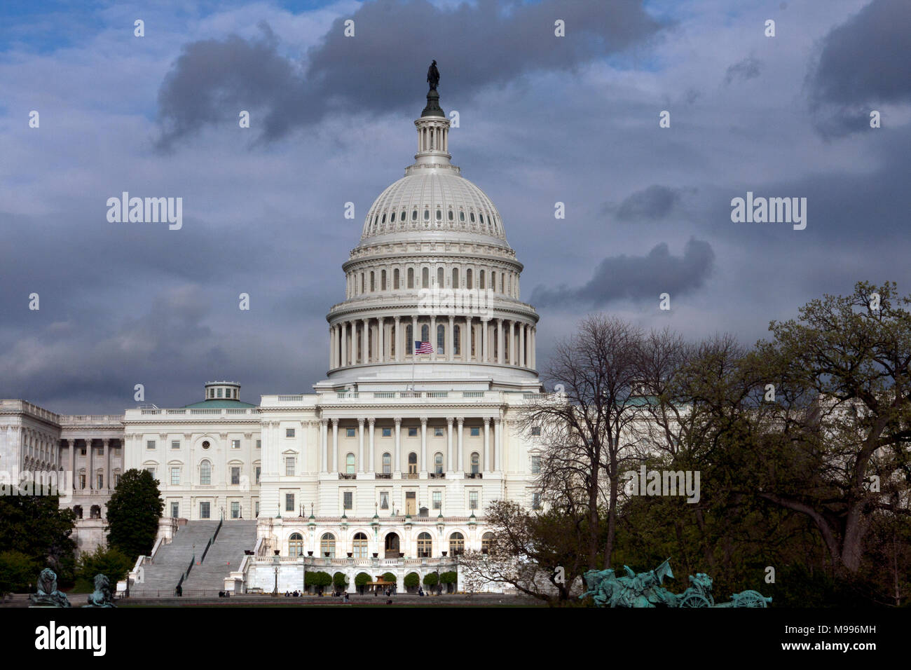 The United States Capitol building in Washington, D.C. - Stock Image
