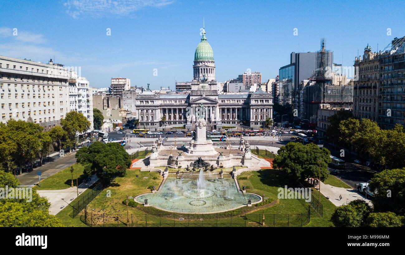Congreso de la Nación Argentina, Buenos Aires, Argentina - Stock Image