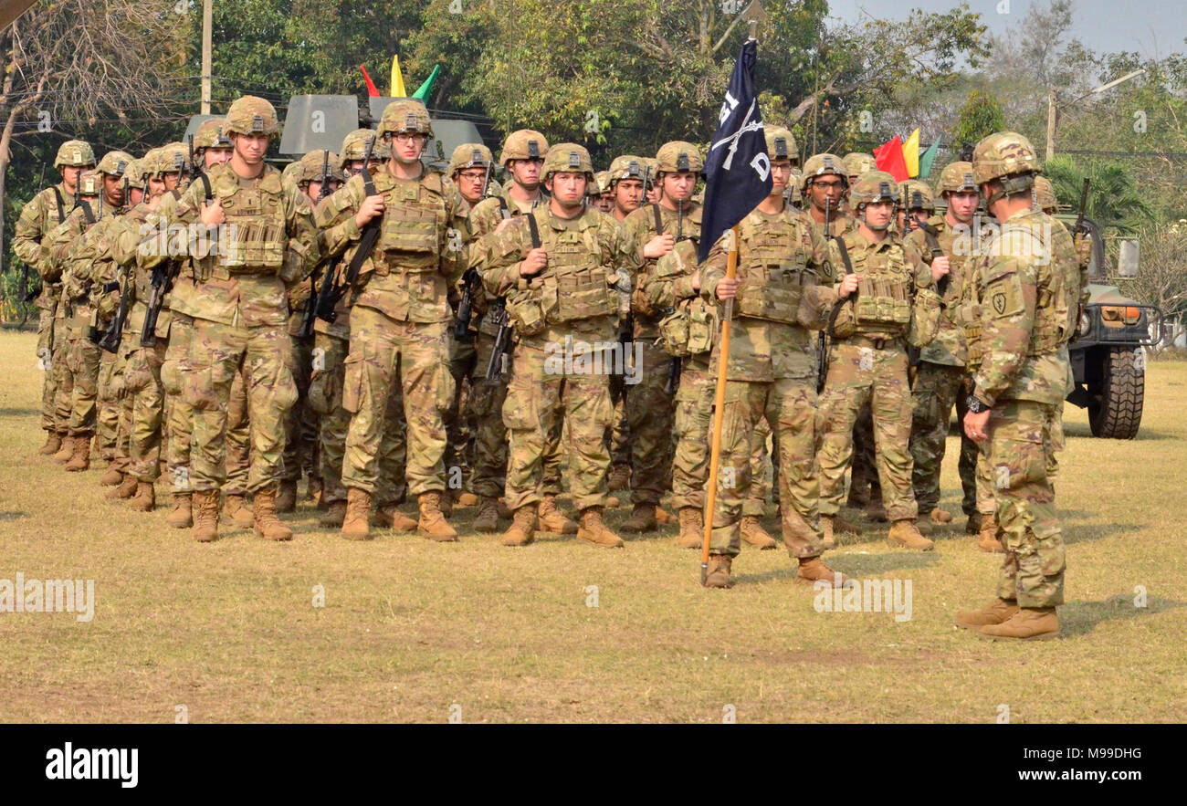 Delta Company 1st Battalion 21st Infantry Regiment 2nd Brigade Combat Team 25th Division And The 133rd