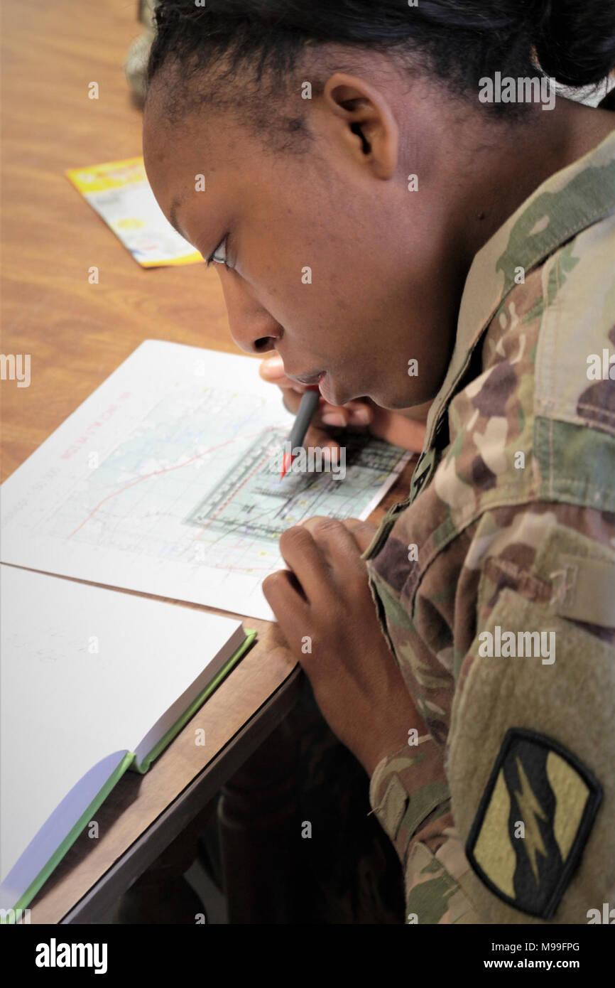 Mississippi Army National Guard Spc. Katesa D. Dear, a human ...