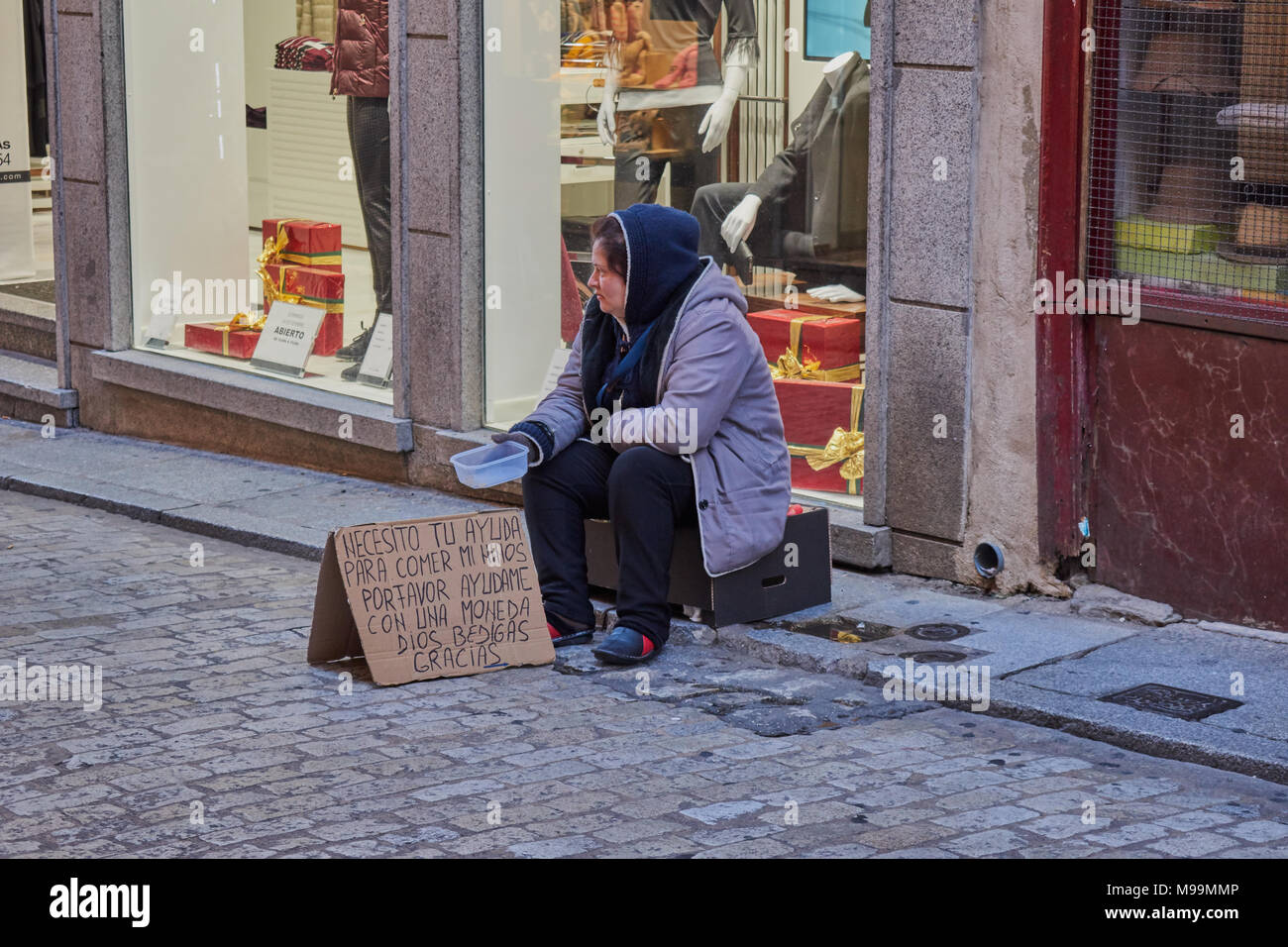 Homeless street children stock photos homeless street - Mmp living espana ...