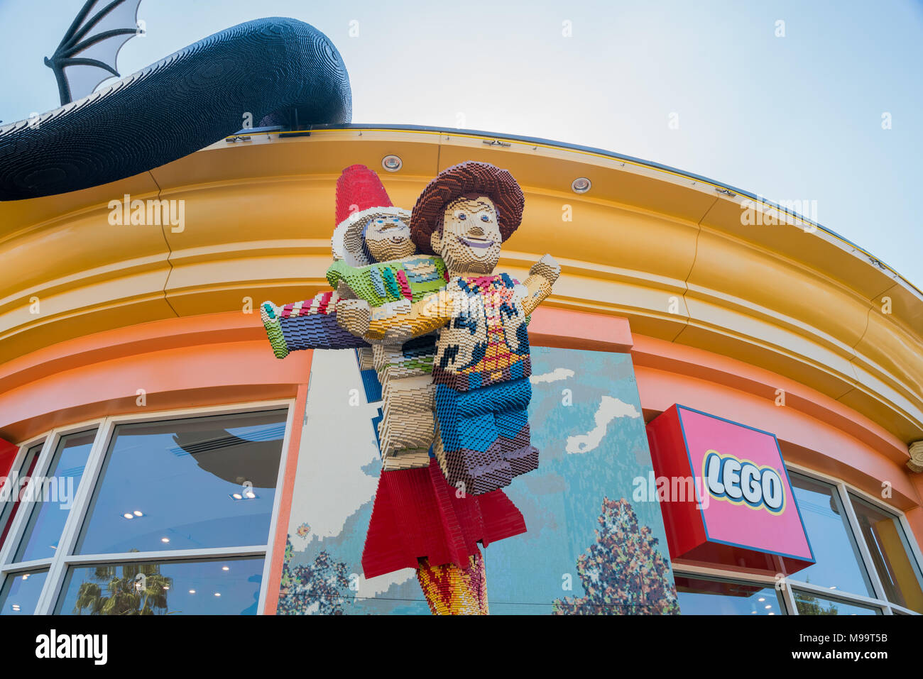 Exterior Of Disney Store Stock Photos Exterior Of Disney Store