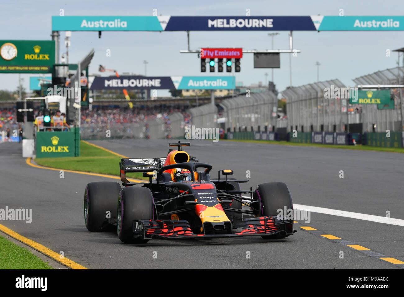 Albert Park Melbourne Australia 24th Mar 2018 Daniel Ricciardo AUS