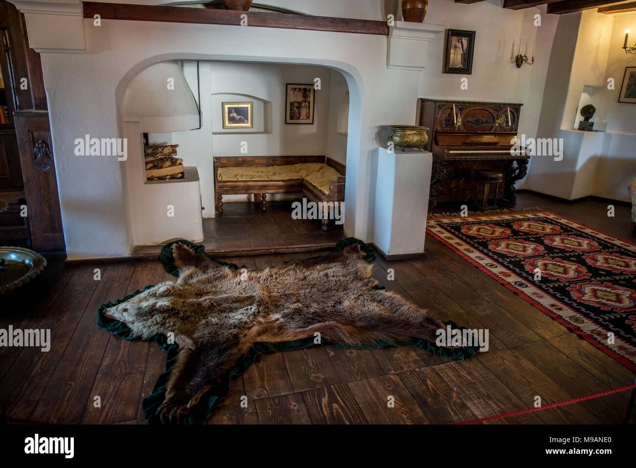 Interiors Of Bran Castle Transylvania Romania Stock Photo Alamy,Easy Diy Christmas Tree Decorations