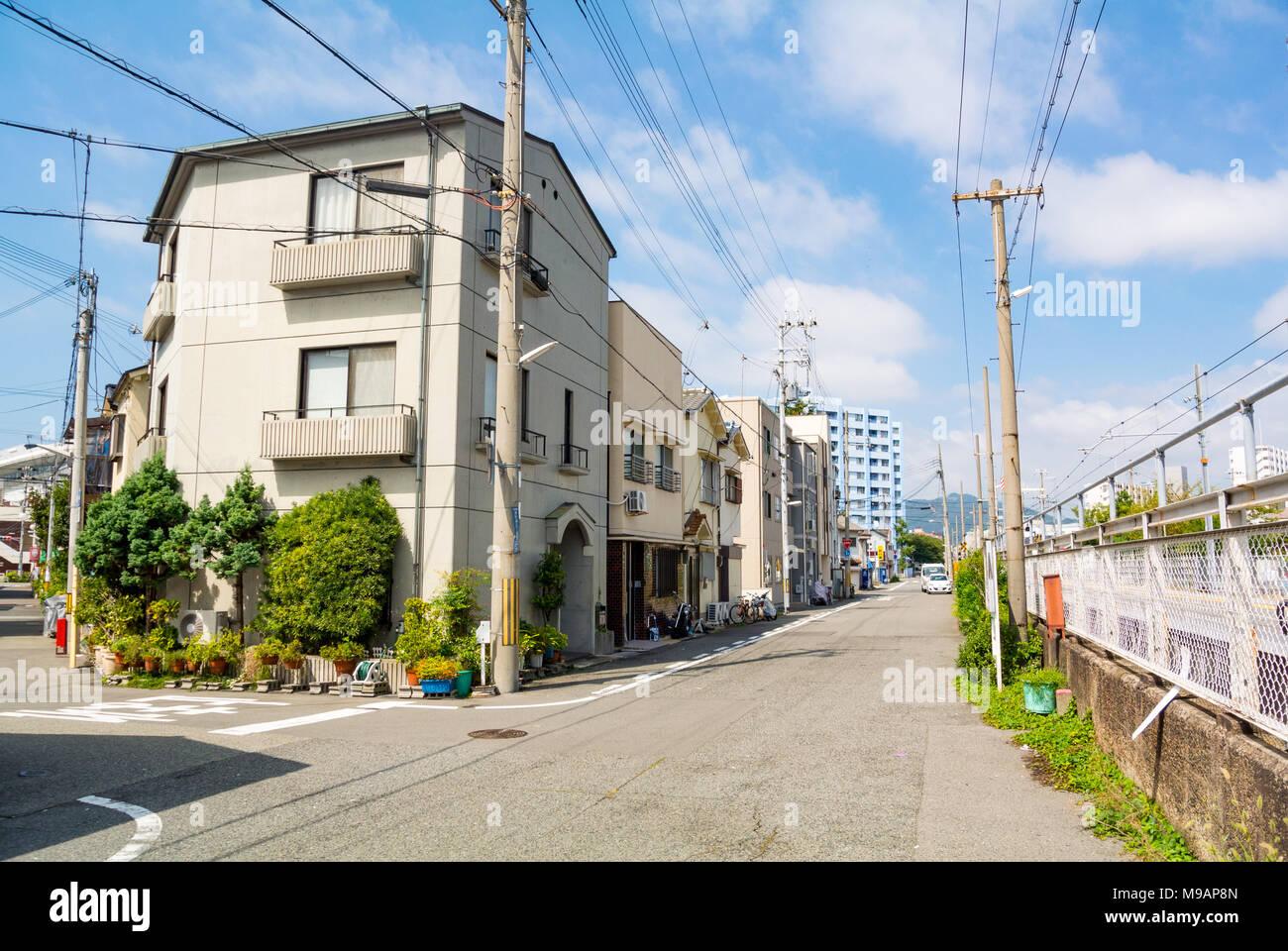 Street scene kobe hyogo prefecture japan stock photo 177872597 street scene kobe hyogo prefecture japan publicscrutiny Images