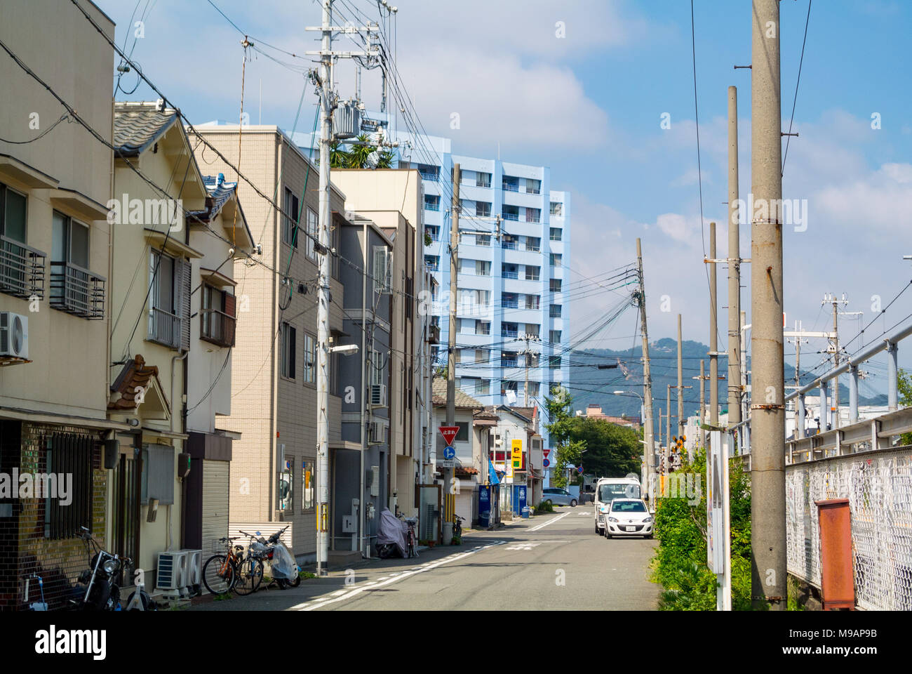 Street scene kobe hyogo prefecture japan stock photo 177872615 street scene kobe hyogo prefecture japan publicscrutiny Images