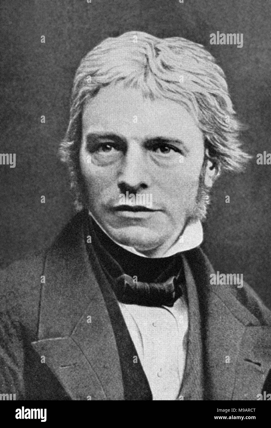 Michael Faraday (1791-1867) - Stock Image