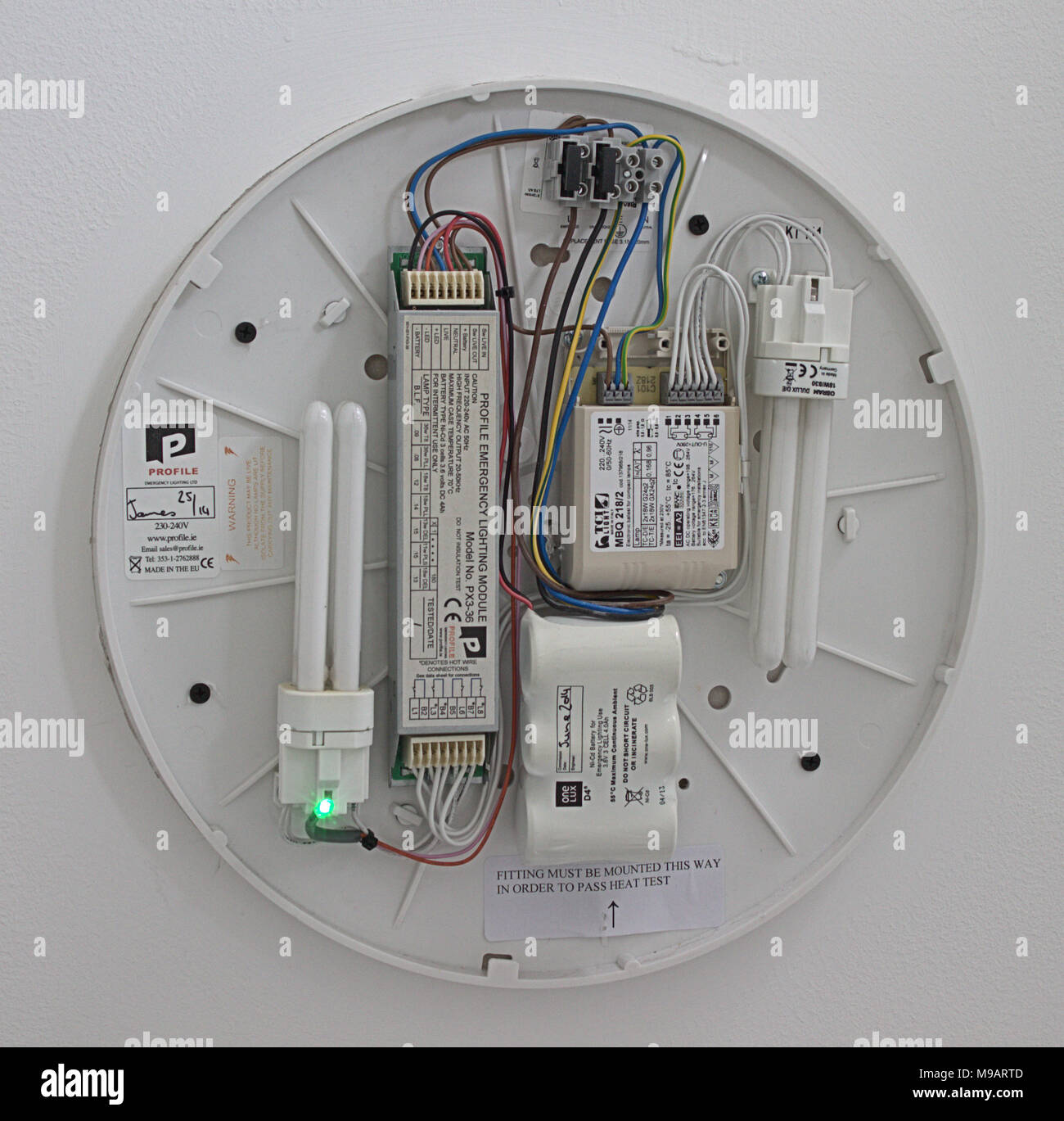 Phenomenal Electric Light Fitting With The Cover Removed Showing The Wiring Wiring Digital Resources Remcakbiperorg