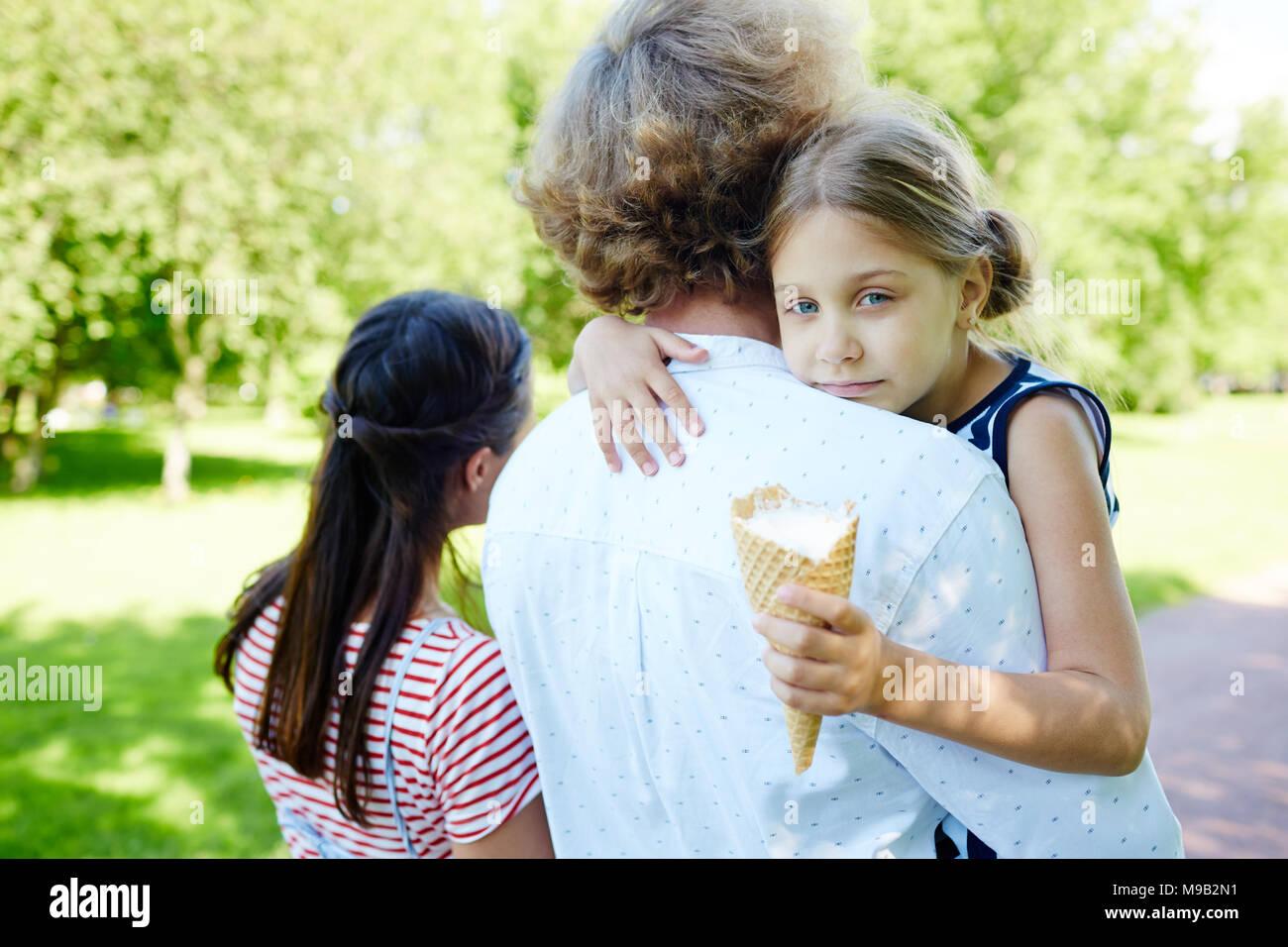 Sweet childhood - Stock Image