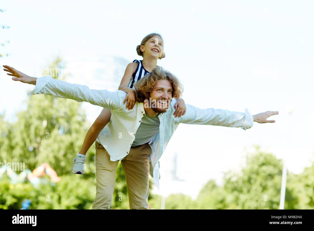 Enjoying summer - Stock Image