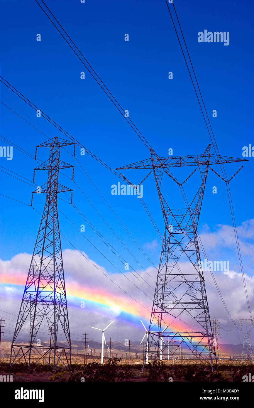 High Tension Towers High Resolution Stock Photography And Images Alamy