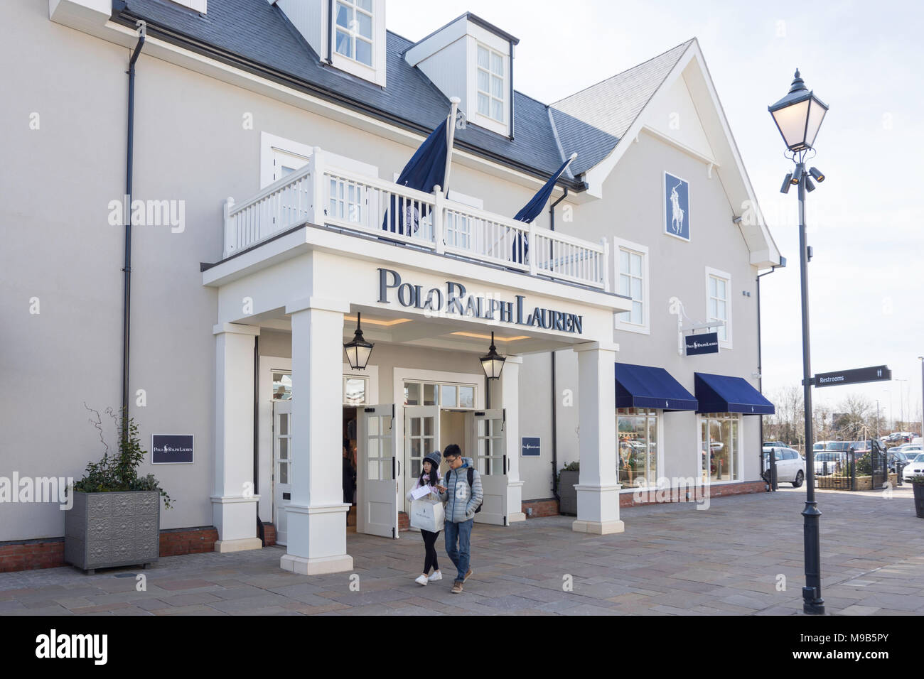 Polo Ralph Lauren store at Bicester Village Outlet Shopping Centre, Bicester, Oxfordshire, England, United Kingdom - Stock Image