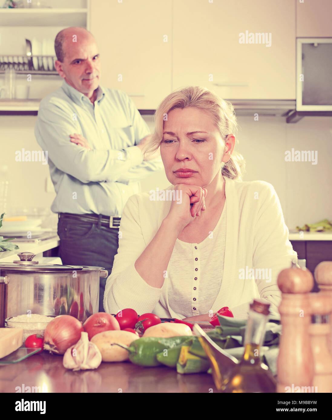 Angry Guy Sad Woman During Stock Photos  Angry Guy Sad Woman During Stock Images - Alamy-1123