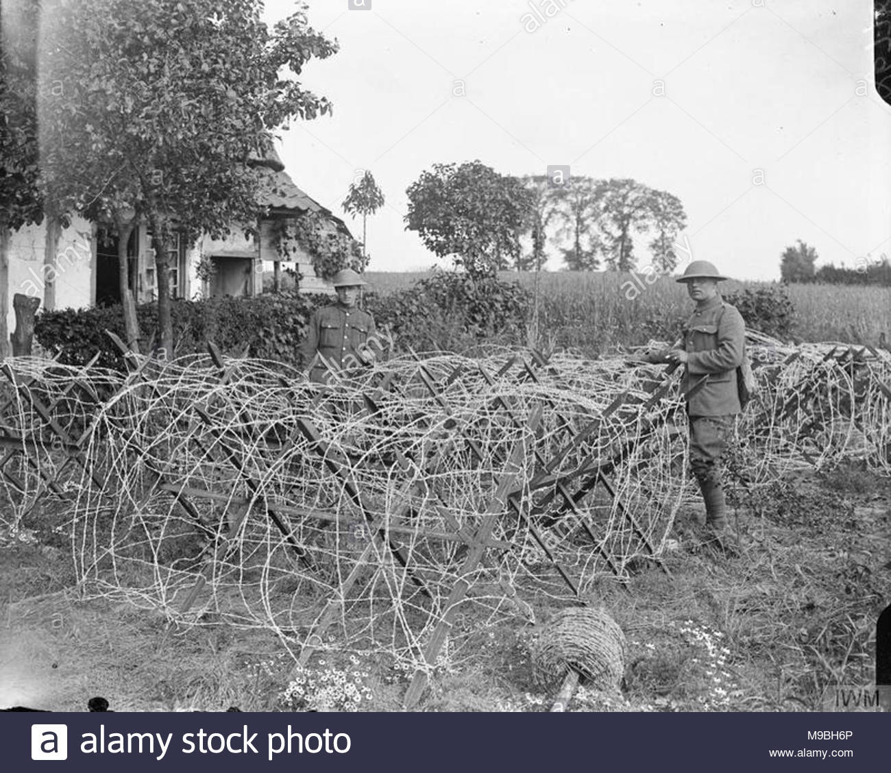 Barbed Wire Entanglements Deutsch Data Line Fm Demodulator Circuit Diagram Tradeoficcom Stock Photos Rh Alamy Com Ww1 Swimmers