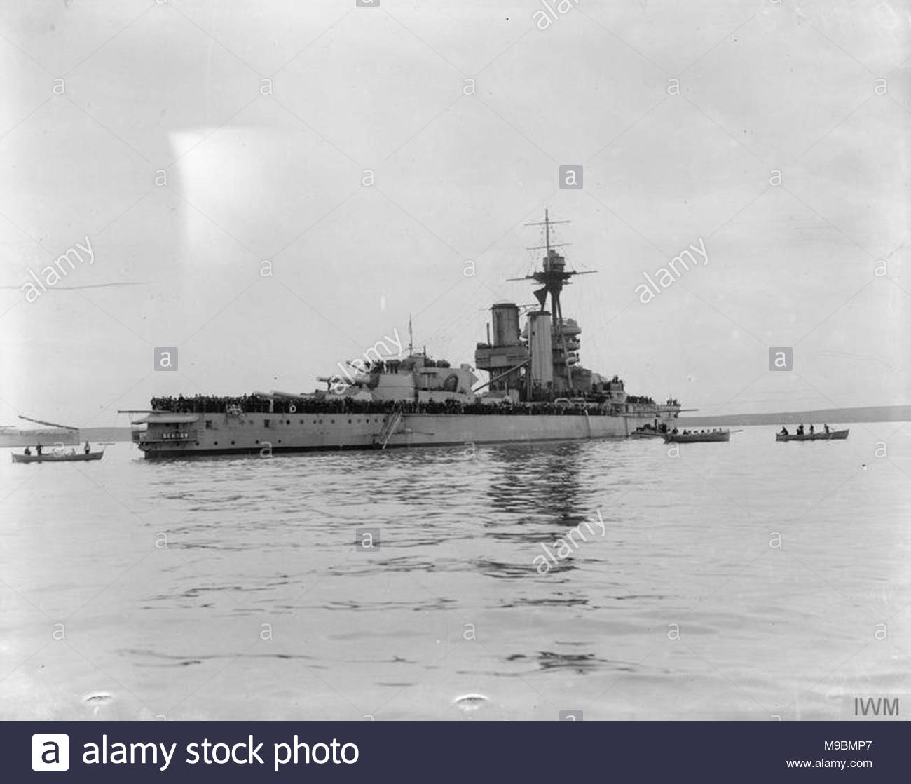Battleship HMS Benbow, World War I 9
