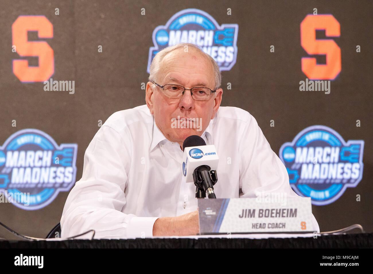 Omaha Ne U S 23rd Mar 2018 Syracuse Orange Head Coach