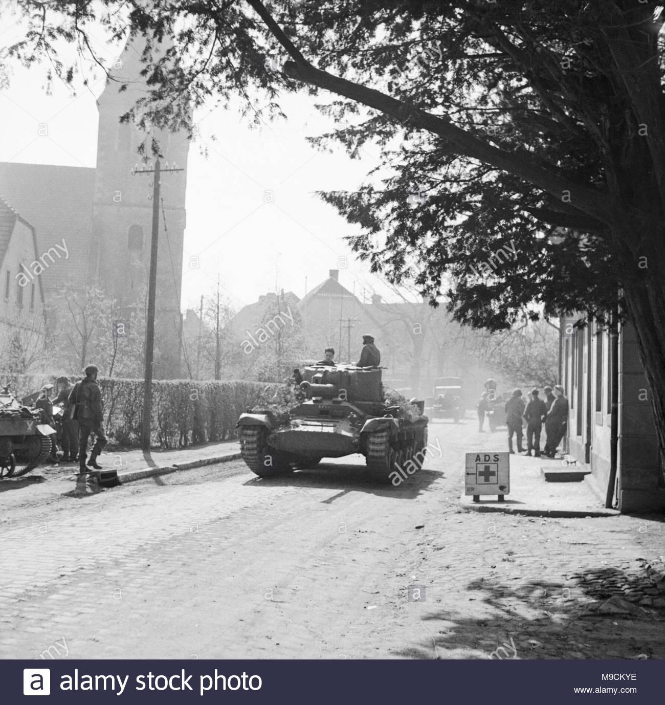 The British Army In North West Europe 1944 45 A Valentine Mk Xi