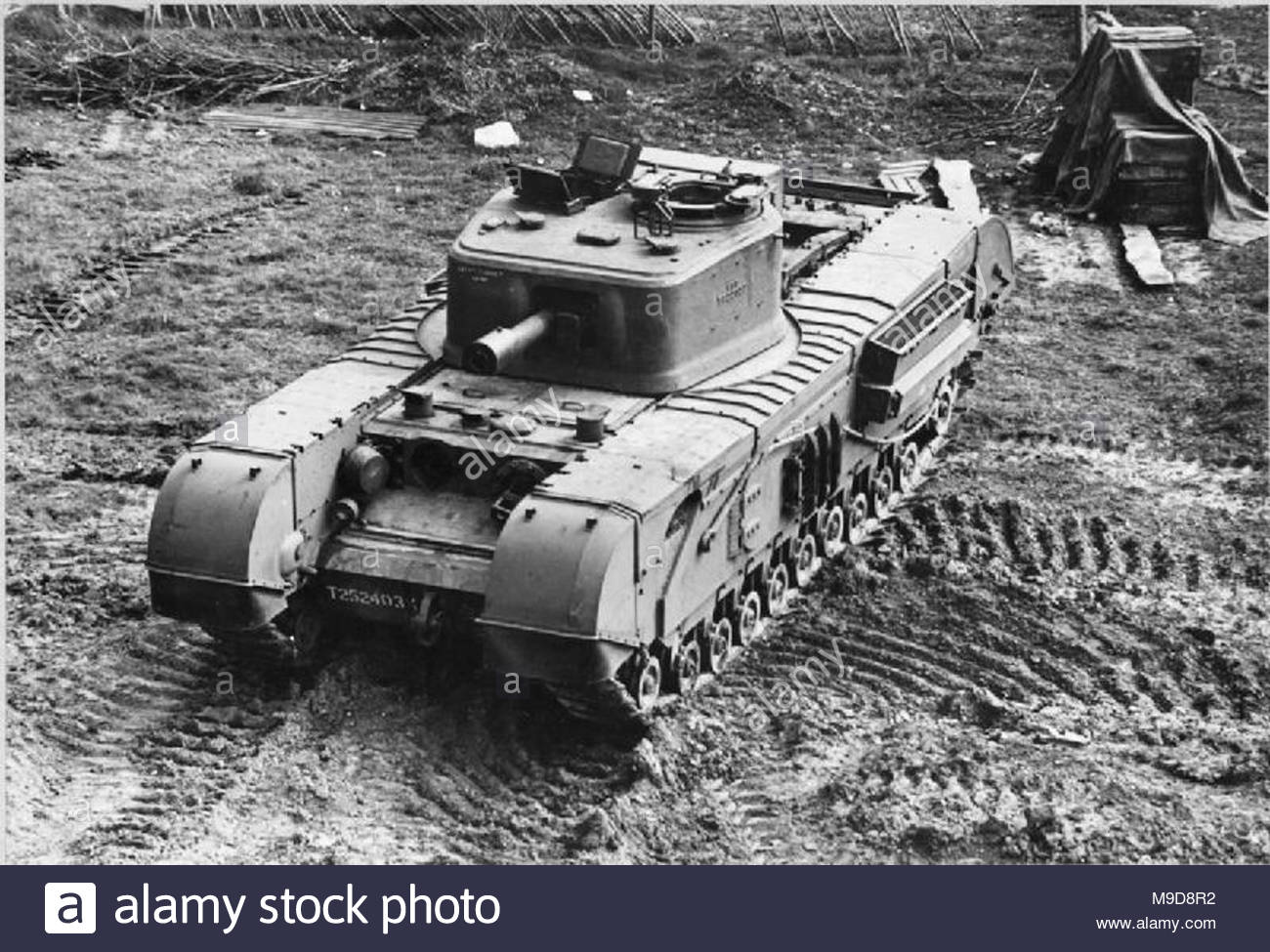 Tanks And Afvs Of The British Army 1939 45 Infantry Tank Mk IV Churchill VIII A22