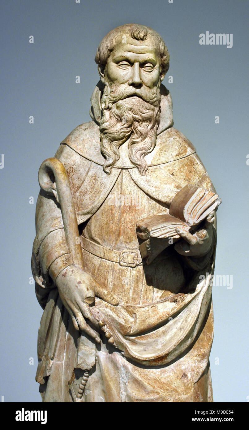 Santo Amaro - Saint Maurus 16th Century Portugal, Portuguese, Coimbra, - Stock Image
