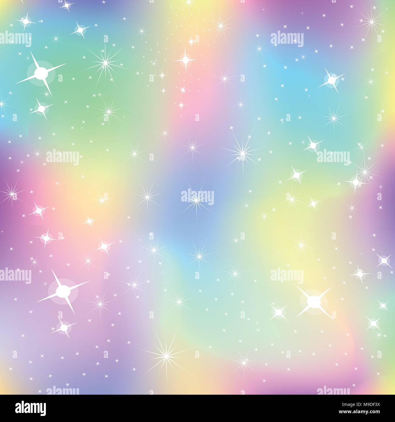 unicorn background with rainbow mesh kawaii universe banner in princess colors fantasy gradient backdrop with hologram holographic unicorn backgrou M9DF3X