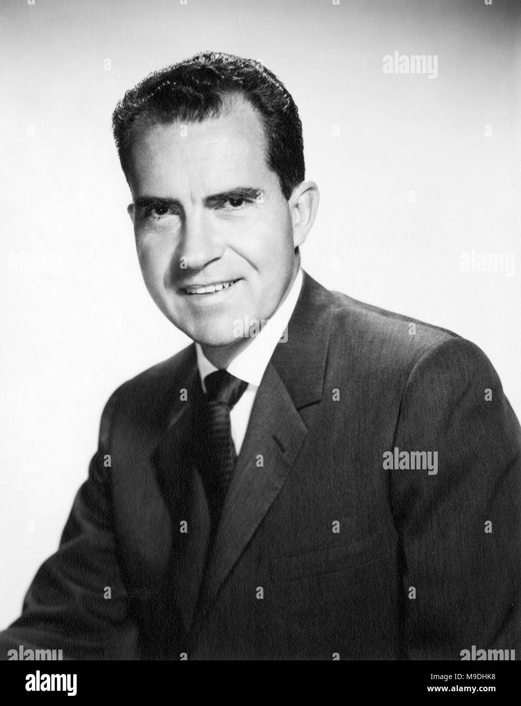 Richard M. Nixon, 36th Vice President of the United States from 1953-1961. - Stock Image