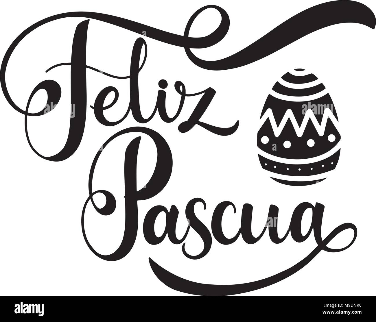 Spanish Greeting Card Easter Text Stock Photos Spanish Greeting