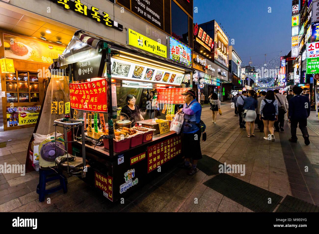 Call girl in South Korea