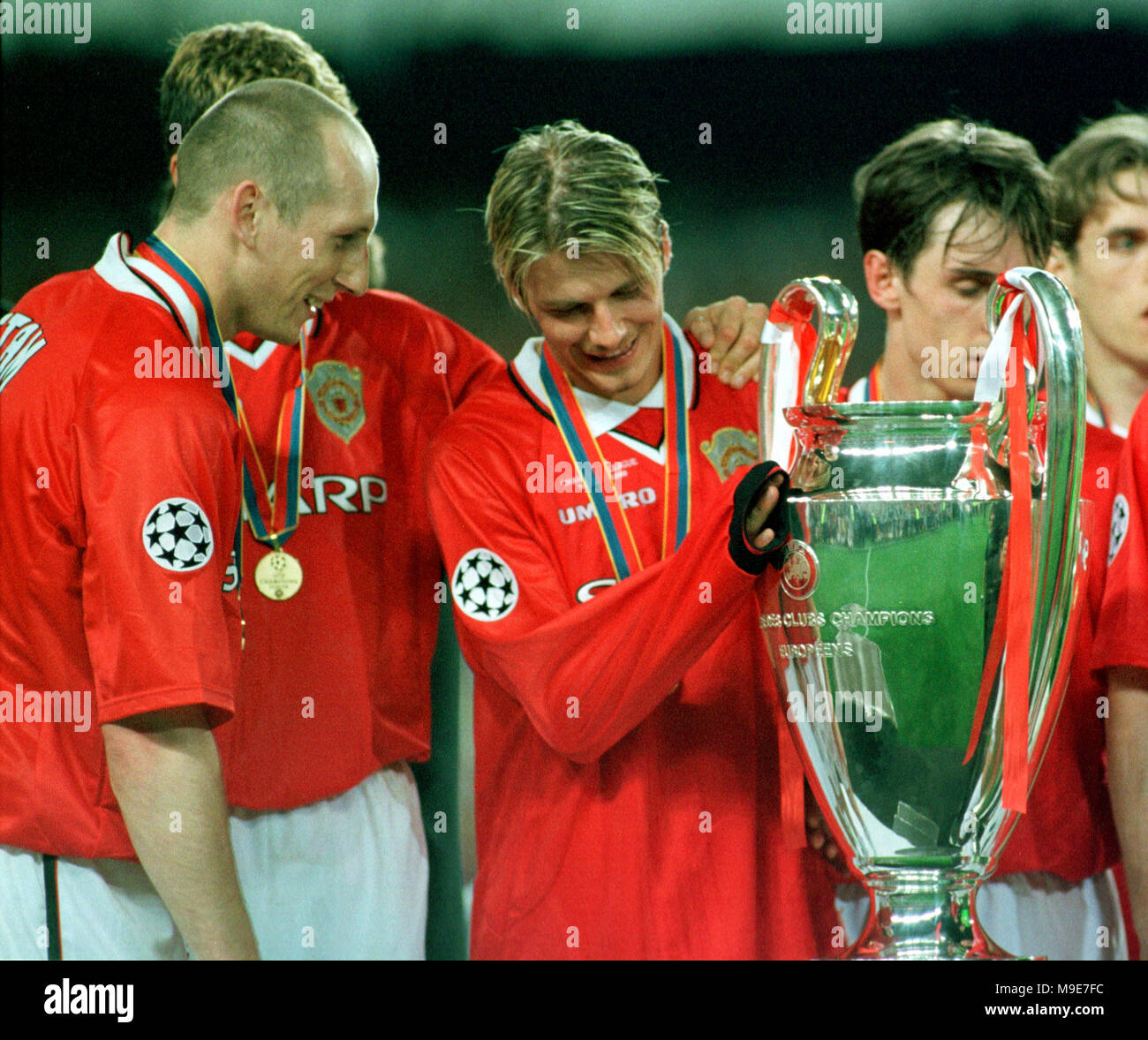 Liverpool Barcelona V S Man Unt Real Madrid: Stadium Camp Nou, Barcelona, Spain 26.5.1999 UEFA