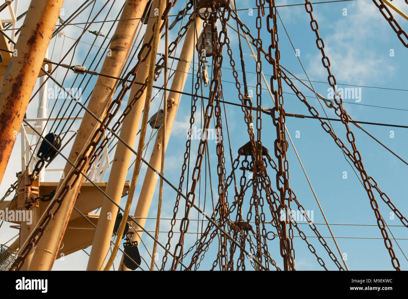 Fish Boat Haul Catch Stock Photos & Fish Boat Haul Catch ...