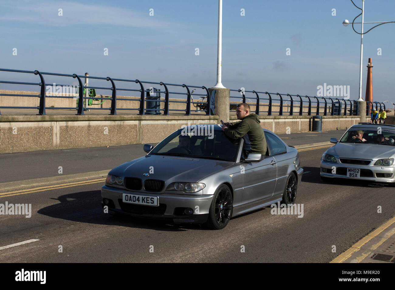 Advantage Car And Credit >> Southport Merseyside Uk 25th March 2018 Uk Weather