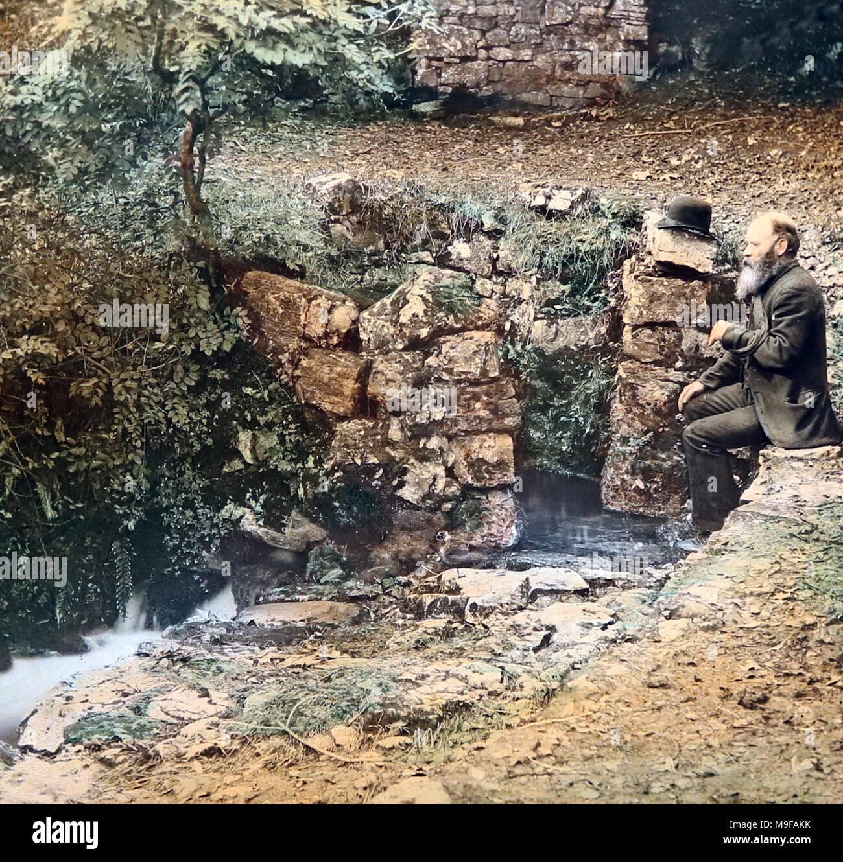 Tobernalt Holy Well, Ireland, Victorian period - Stock Image