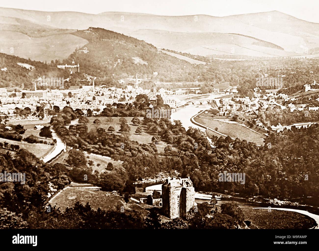 Peebles, Victorian period - Stock Image