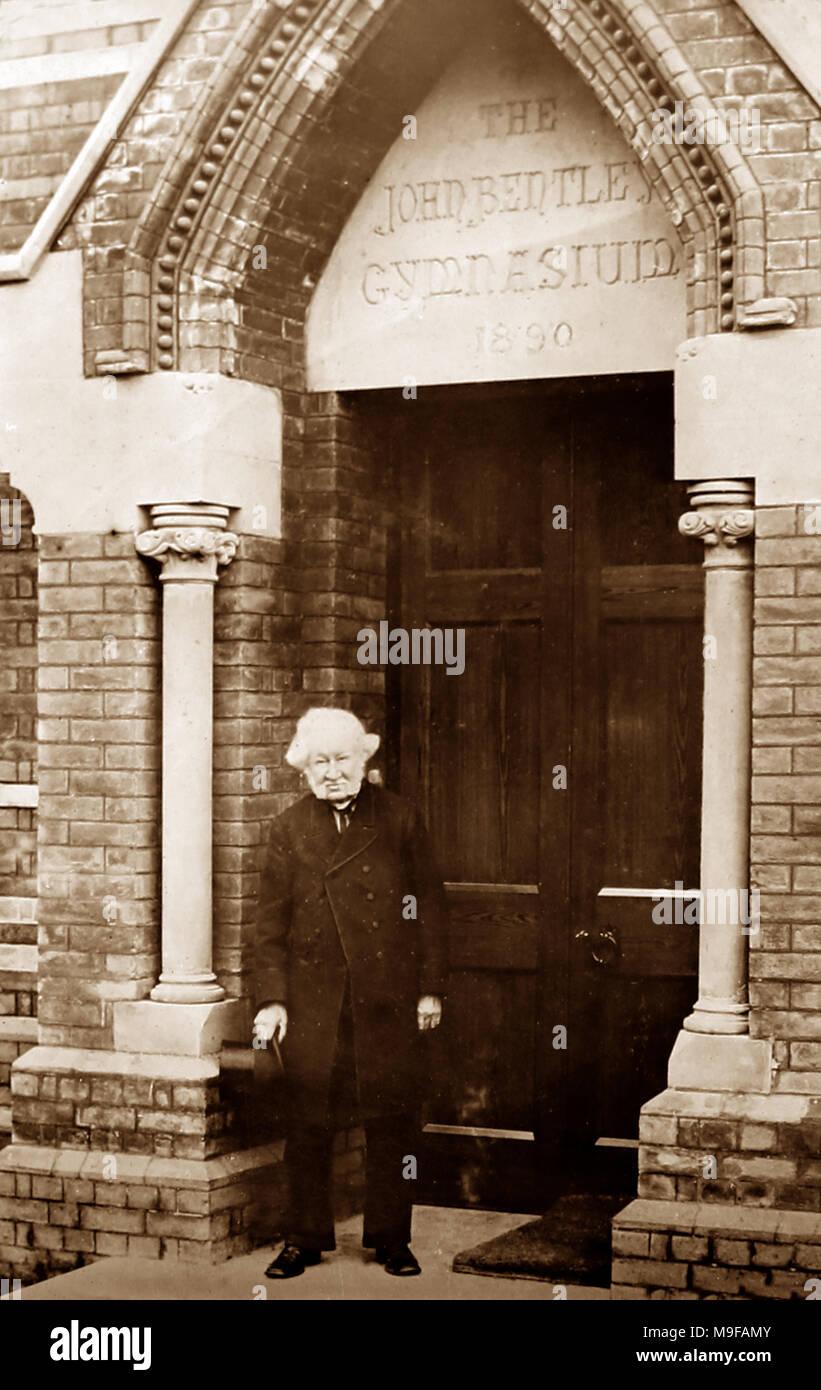 John Bentley School, Calne, Victorian period - Stock Image
