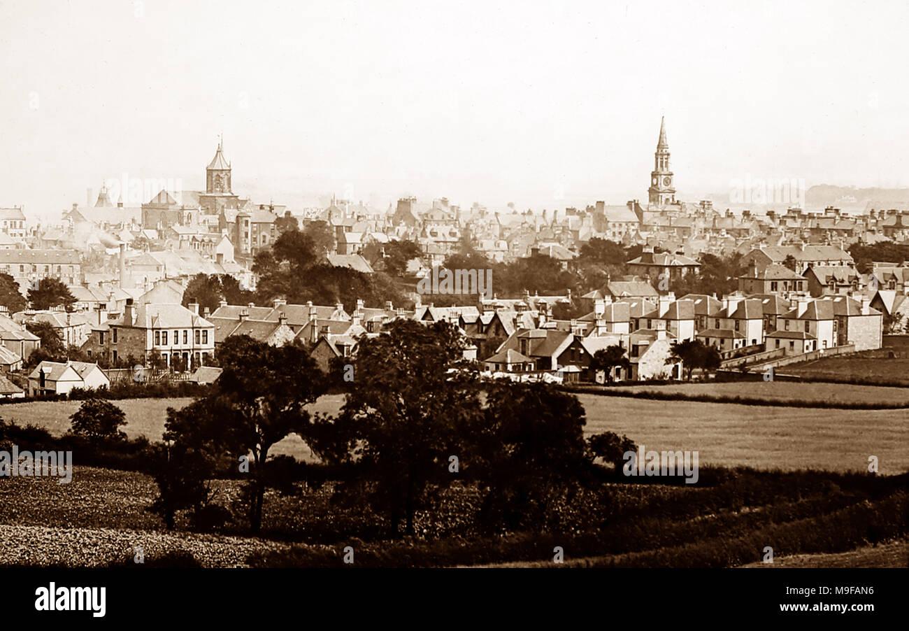 Falkirk, Victorian period - Stock Image