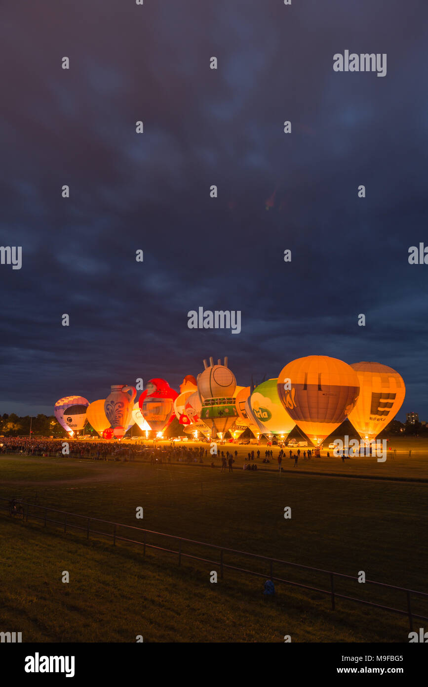 balloon sail kiel night glow