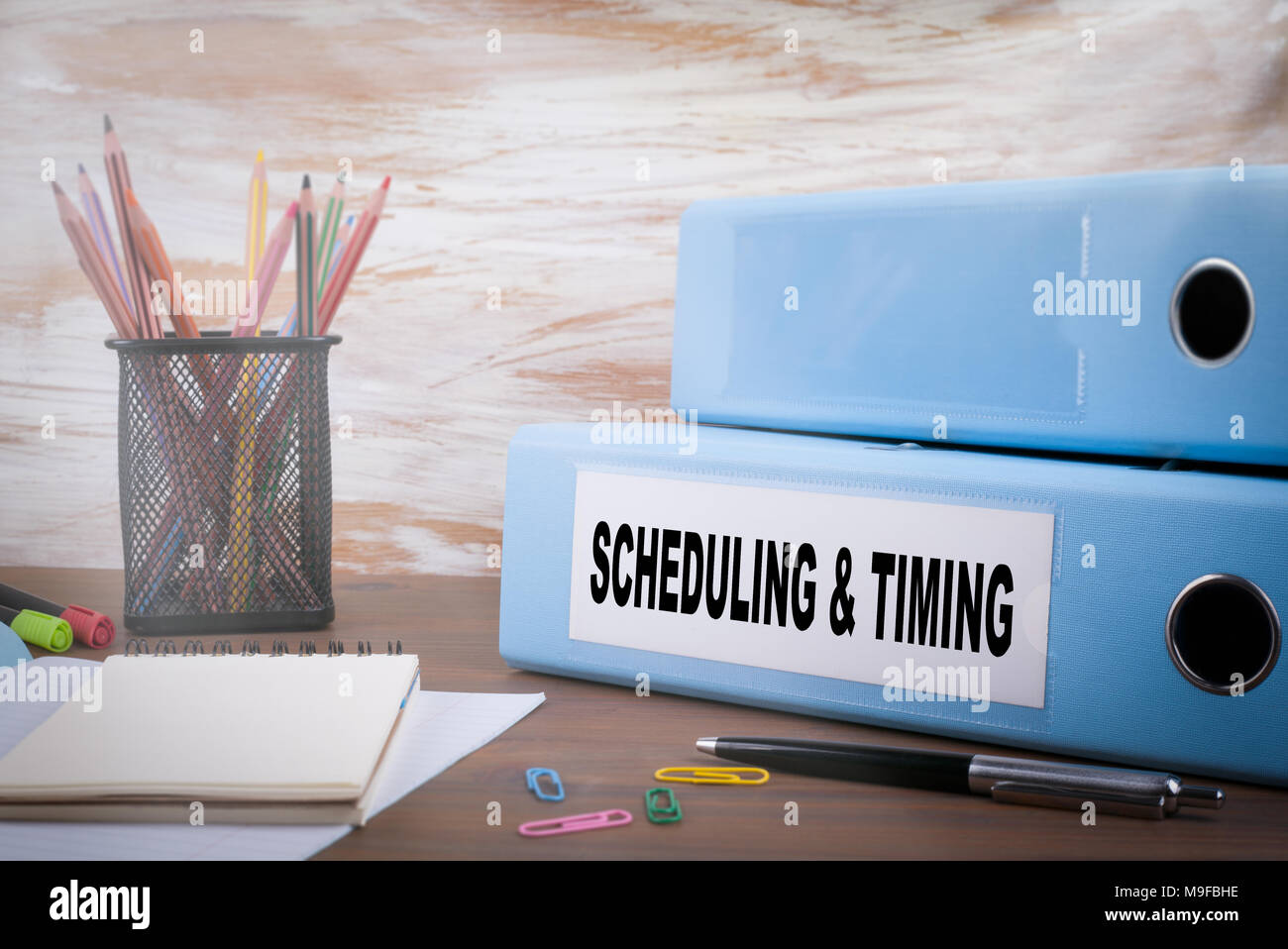 Scheduling and Timing, Business Concept - Stock Image